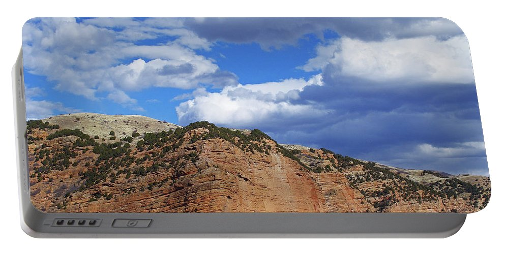 Utah Portable Battery Charger featuring the photograph High, Wide, And Awesome by Mike and Sharon Mathews