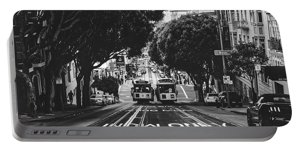 San Francisco Portable Battery Charger featuring the photograph Hills Of San Francisco by Unsplash