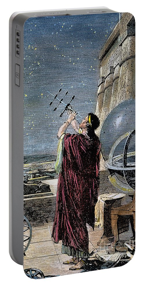 100 B.c Portable Battery Charger featuring the photograph Hipparchus (146-127 Bc) by Granger