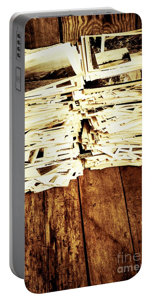 Photographs Portable Battery Charger featuring the photograph History In Photos by Jorgo Photography - Wall Art Gallery