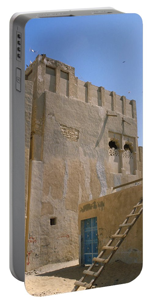 Hofuf Portable Battery Charger featuring the photograph Hofuf Alley by Jerry McElroy