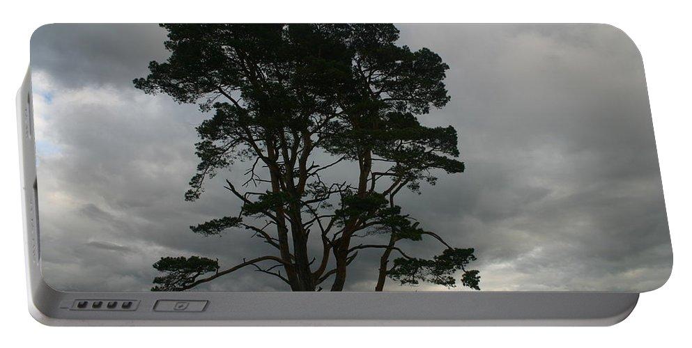 Storm Portable Battery Charger featuring the photograph Holland Desert by Minaz Jantz