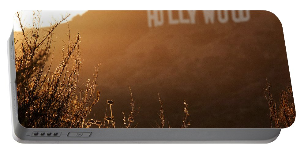 Aurica Voss Portable Battery Charger featuring the photograph Hollywood by Aurica Voss