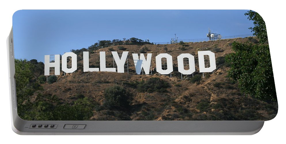 Hollywood Portable Battery Charger featuring the photograph Hollywood by Marna Edwards Flavell