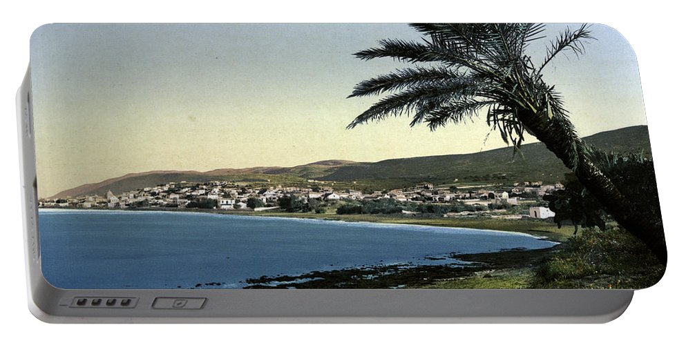 Haifa Portable Battery Charger featuring the photograph Holyland - Mount Carmel Haifa by Munir Alawi