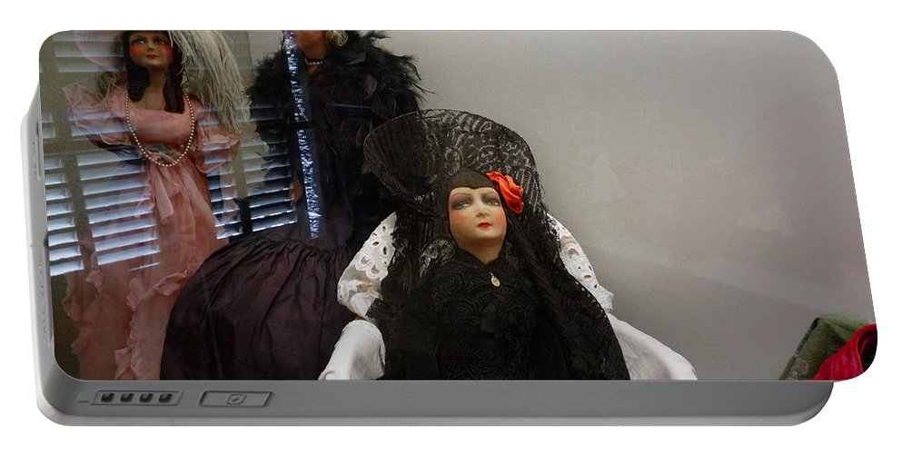 Dolls Portable Battery Charger featuring the photograph Home Is Where The Heart Is by Charles Stuart