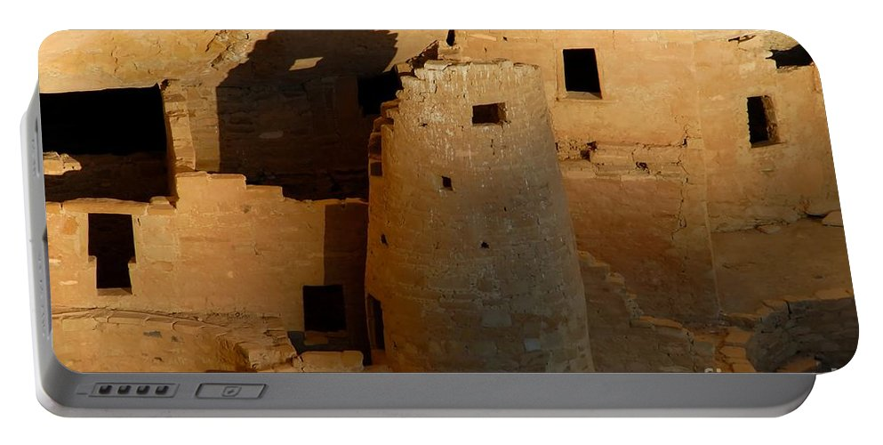 Anasazi Portable Battery Charger featuring the photograph Home Of The Anasazi by David Lee Thompson
