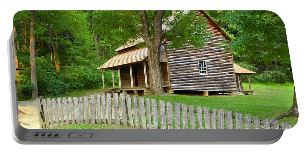 Home Portable Battery Charger featuring the photograph Homestead by David Lee Thompson