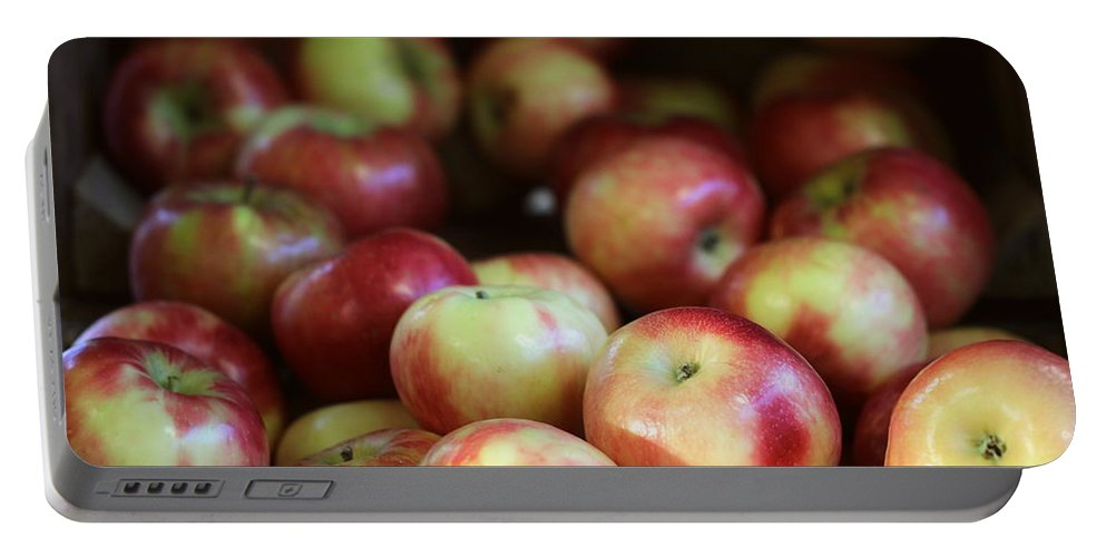 Harrisburg Pa Portable Battery Charger featuring the photograph Honeycrisp Apples by Joseph Skompski