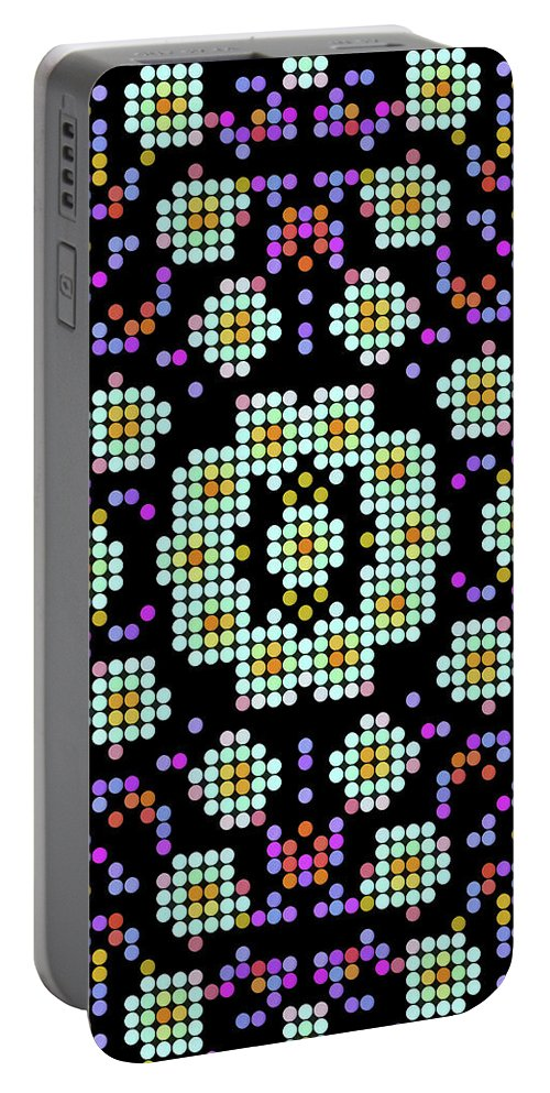 Mandala Art Portable Battery Charger featuring the painting Hope by Jeelan Clark