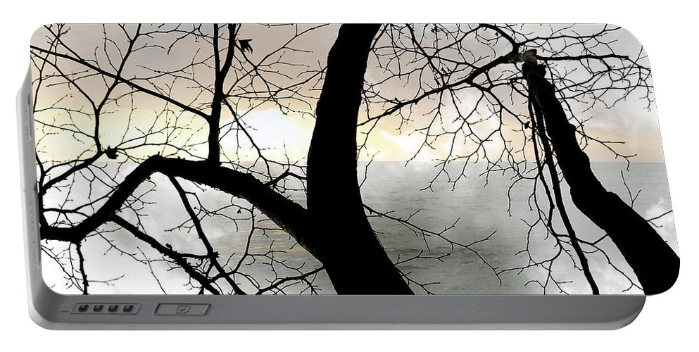 Tree Portable Battery Charger featuring the photograph Hope by Munir Alawi
