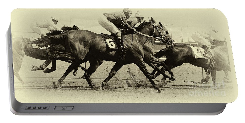 Horse. Horses Portable Battery Charger featuring the photograph Horse Power 15 by Bob Christopher