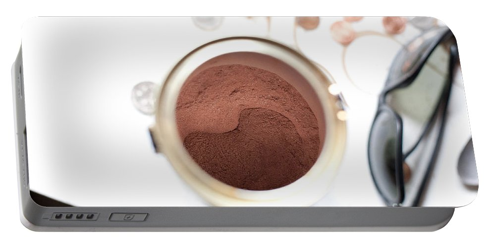 Hot Cocoa Portable Battery Charger featuring the photograph Hot Chocolate by Steven Dunn
