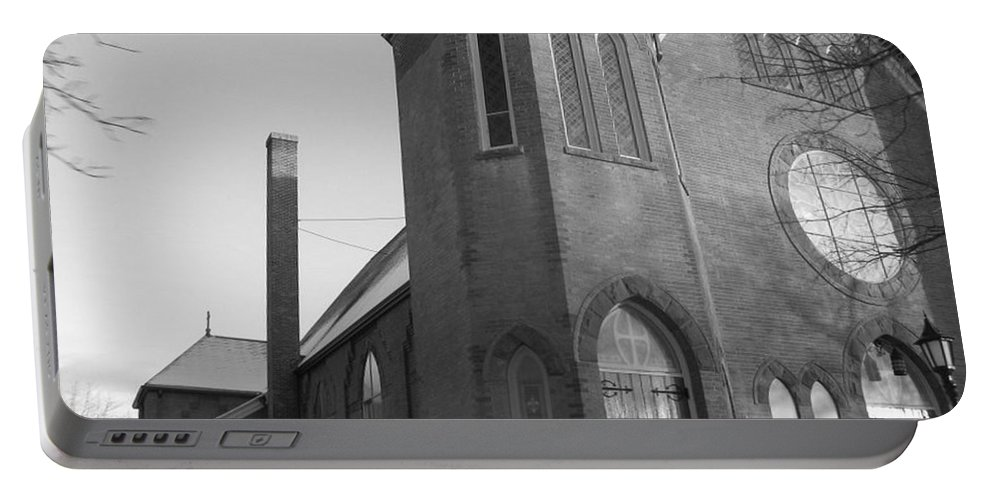 House Portable Battery Charger featuring the photograph House Of God by Rhonda Barrett