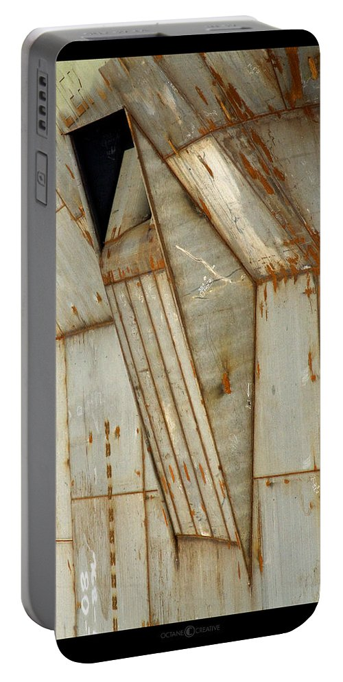 Hull Portable Battery Charger featuring the photograph Hull Detail by Tim Nyberg