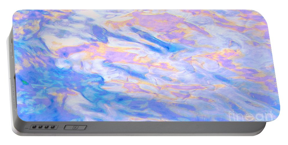 Abstract Portable Battery Charger featuring the photograph Humility by Sybil Staples