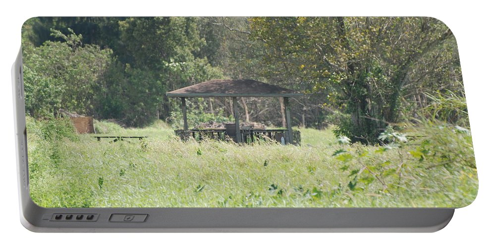 Grass Portable Battery Charger featuring the photograph Huppa In The Fields by Rob Hans