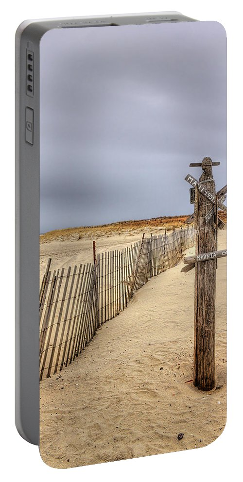 Beach Portable Battery Charger featuring the photograph I Dream Of Maui... by Evelina Kremsdorf