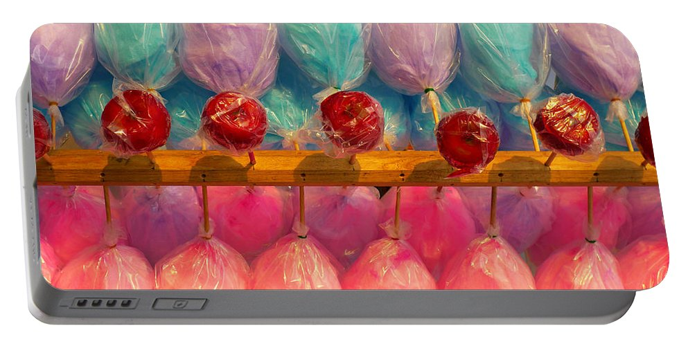 Skip Hunt Portable Battery Charger featuring the photograph I Want Candy by Skip Hunt