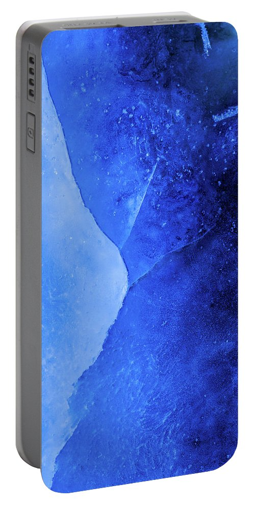 Ice Portable Battery Charger featuring the photograph Ice Art #222 by Sebastian Worm