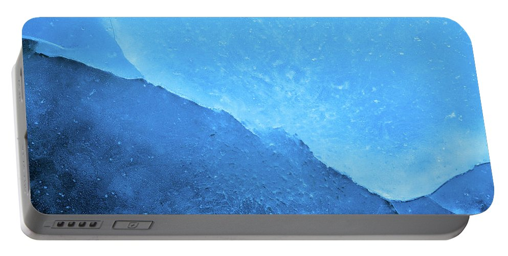 Ice Portable Battery Charger featuring the photograph Ice Art #224 by Sebastian Worm