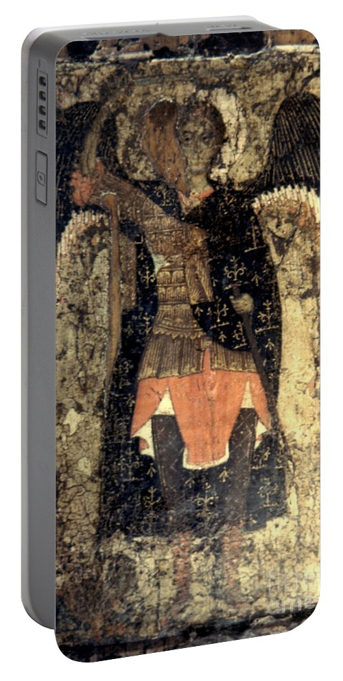 13th Century Portable Battery Charger featuring the photograph Icon: Assumption Cathedral by Granger