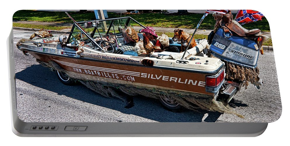 Boat Portable Battery Charger featuring the photograph Identity Crisis by Christopher Holmes