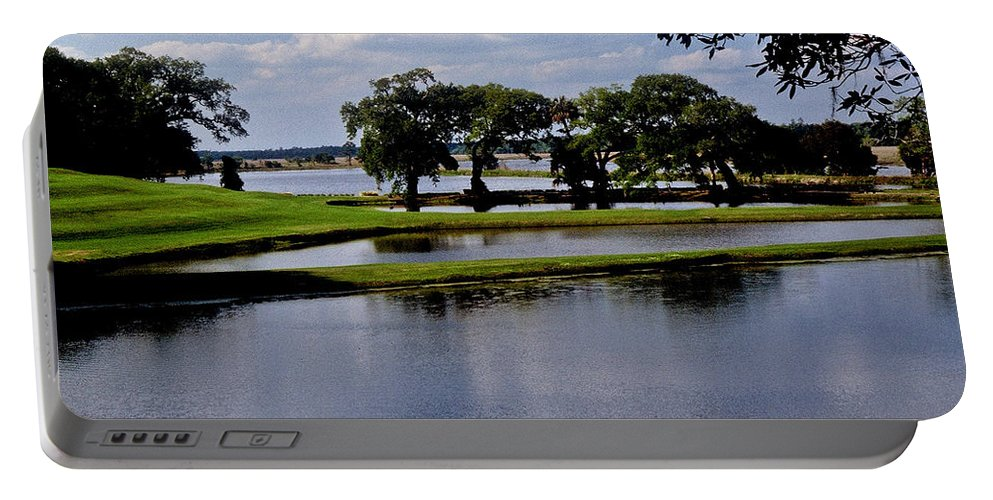 Lake Portable Battery Charger featuring the photograph Charleston South Carolina by Gary Wonning