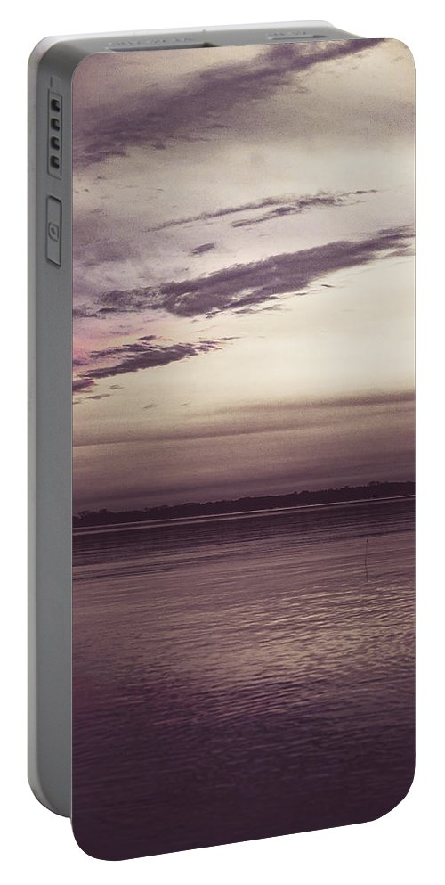 Lake Huron Portable Battery Charger featuring the photograph If This Is All by Kristin Hunt