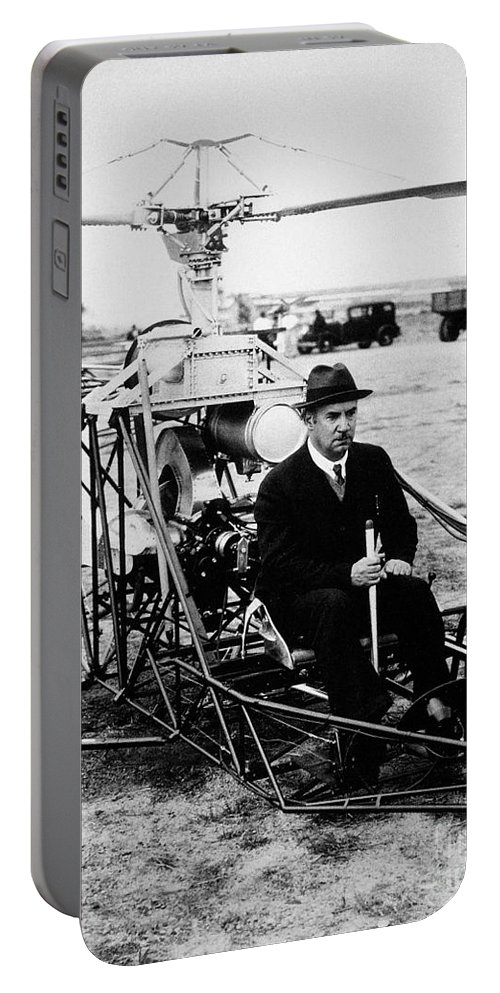 1940 Portable Battery Charger featuring the photograph Igor Ivan Sikorsky by Granger