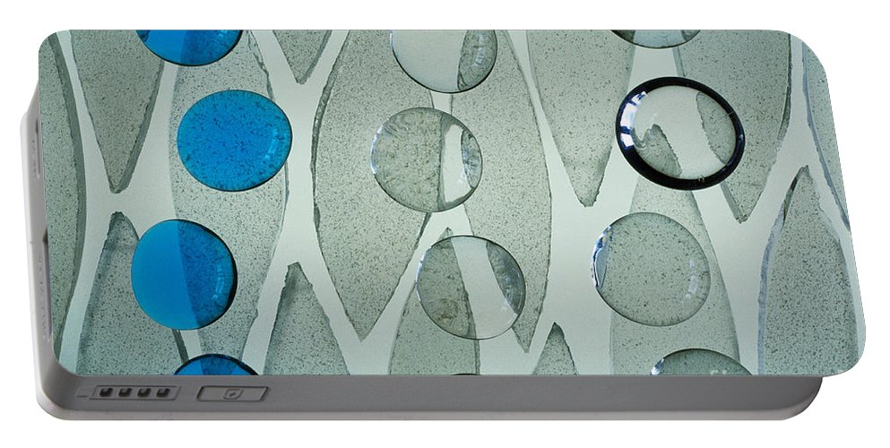 Art-deco Portable Battery Charger featuring the photograph Illuminations 69 by Barbara Chase