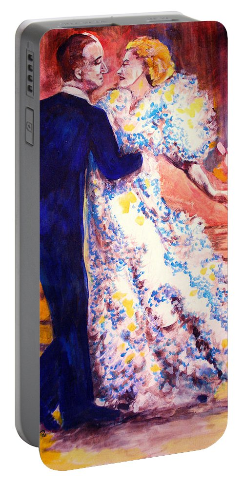 I'm In Heaven Portable Battery Charger featuring the painting I'm In Heaven by Seth Weaver