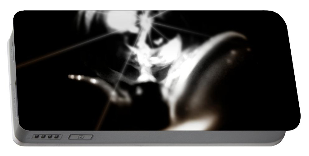 Abstract Portable Battery Charger featuring the photograph Imagination by Scott Wyatt