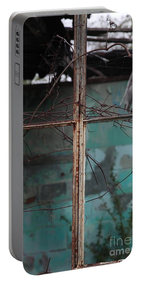 Windows Portable Battery Charger featuring the photograph Imposition by Amanda Barcon