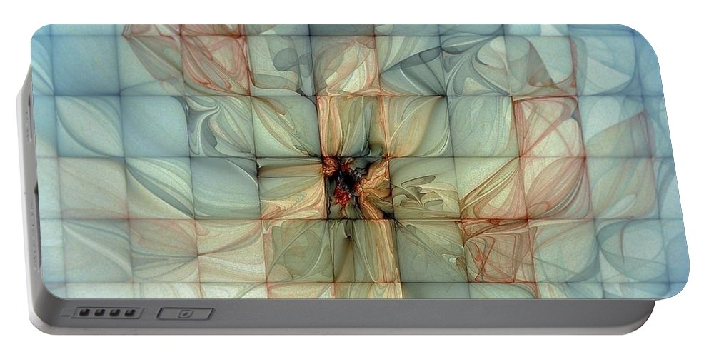 Digital Art Portable Battery Charger featuring the digital art In Dreams by Amanda Moore