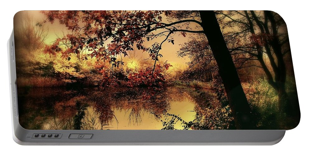 Autumn Portable Battery Charger featuring the photograph In Dreams by Jacky Gerritsen