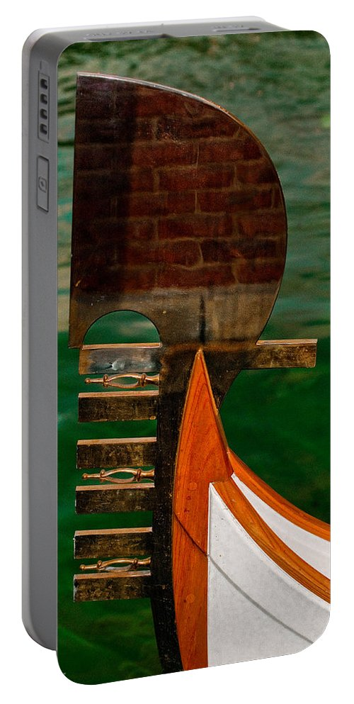 Boat Portable Battery Charger featuring the photograph In Reflection by Christopher Holmes