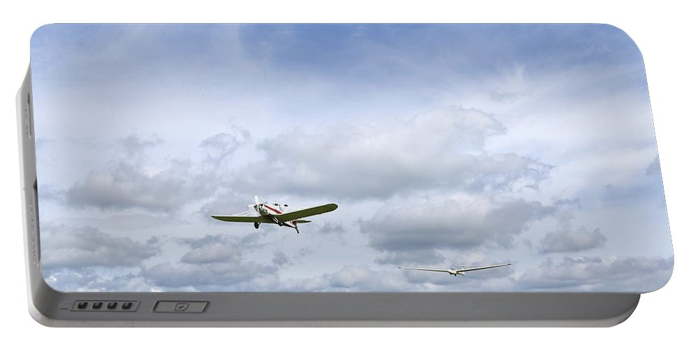 Sky Portable Battery Charger featuring the photograph In The Air by Svetlana Sewell