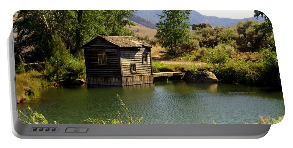 Yellowstone Portable Battery Charger featuring the photograph In The High Country by Marty Koch
