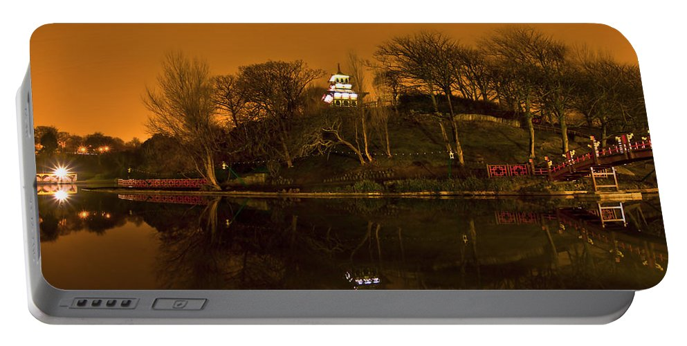 Architecture Portable Battery Charger featuring the photograph In The Park by Svetlana Sewell