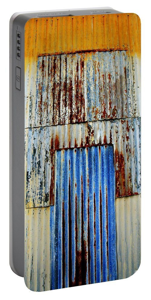 Skip Hunt Portable Battery Charger featuring the photograph In Through The Out Door by Skip Hunt