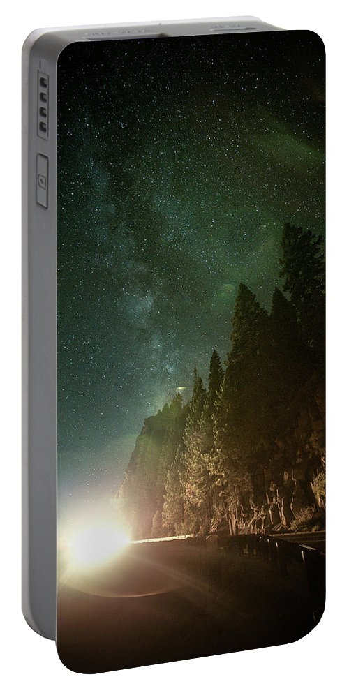 Landscape Portable Battery Charger featuring the photograph Incoming by Mario Mariscal