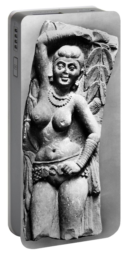 2nd Century Portable Battery Charger featuring the photograph India: Jain Sculpture by Granger