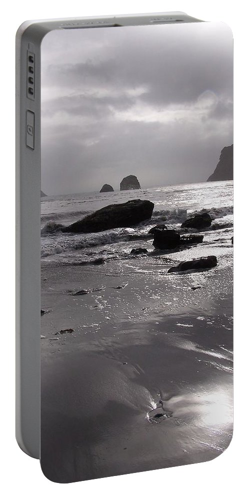 Beach Portable Battery Charger featuring the photograph Indian Beach by Gale Cochran-Smith