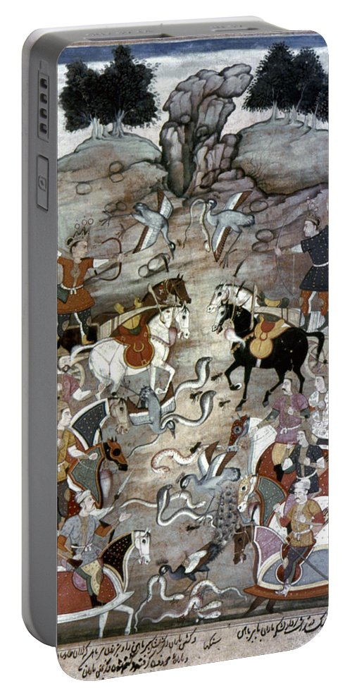 1598 Portable Battery Charger featuring the photograph Indian Mughal Book by Granger