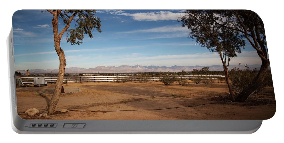 Indian Wells Valley Portable Battery Charger featuring the photograph Indian Wells Valley by Warren Still