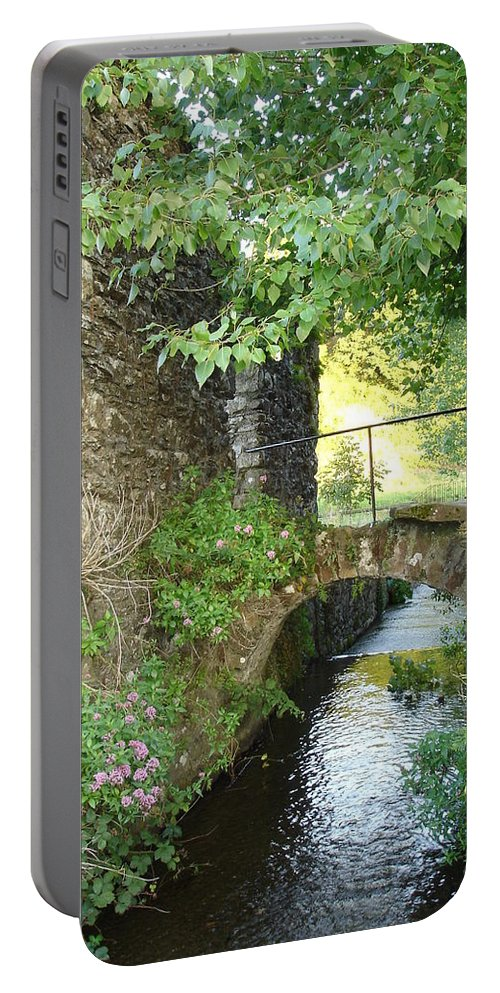 Inistioge Portable Battery Charger featuring the photograph Inistioge by Kelly Mezzapelle