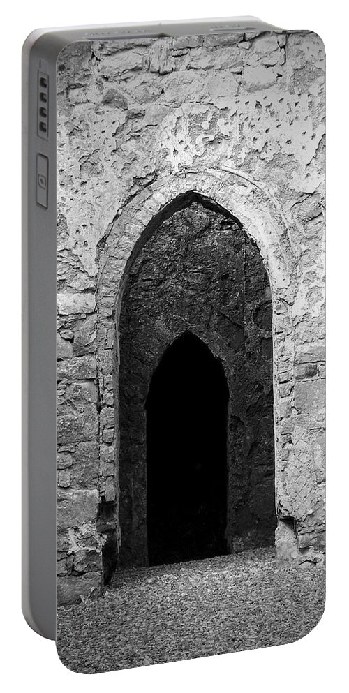 Ireland Portable Battery Charger featuring the photograph Inner Sanctum Fuerty Church Roscommon Ireland by Teresa Mucha