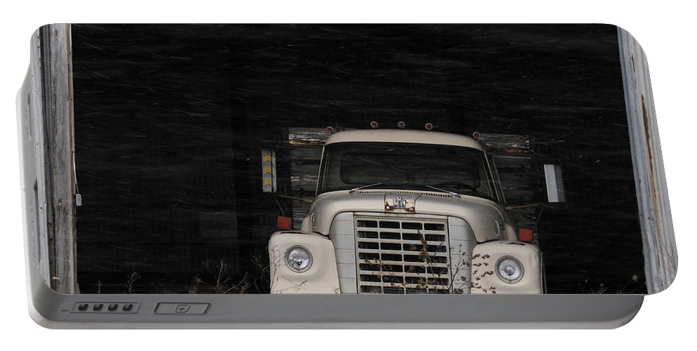 International Harvester Portable Battery Charger featuring the photograph International Truck by David Arment