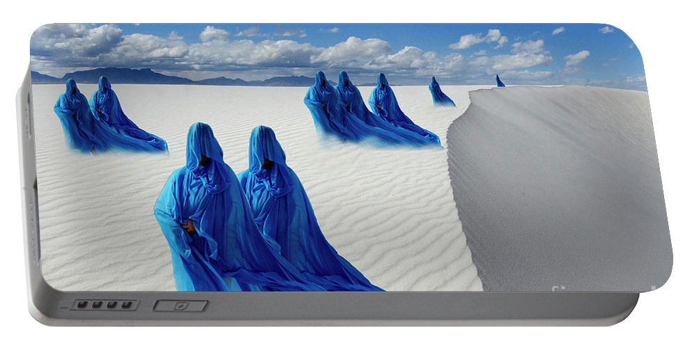 Sand Portable Battery Charger featuring the photograph Into The Mystic 12 by Bob Christopher